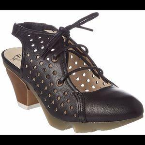 Fly London Ozie black sandal/shoe size 39
